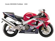 Air intake right Honda CBR Fireblade