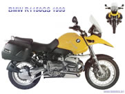 Air cleaner BMW R 1150 GS