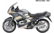 Achterwiel compleet BMW R 1100  1150 RS