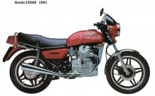 Starting motor Honda CX 500