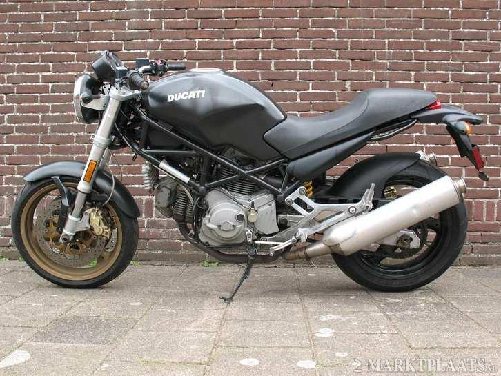ABS sensor achter Ducati Monster 750
