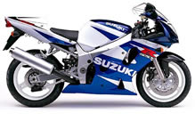 Wind screen Suzuki GSX R 600