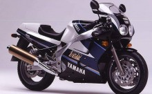 Pillion step left  Yamaha FZR 1000