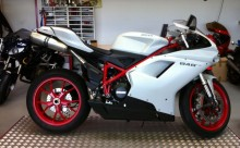 Winker right rear Ducati 848