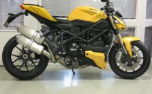 Air intake right Ducati 848 Streetfighter