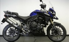 Schetsplaat links Triumph Tiger Explorer