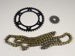 Chain and sprocket kit Aprilia Pegaso 650