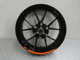 Rear wheel KTM 125 Duke