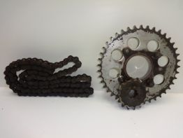 Chain and sprocket kit Honda CB 400