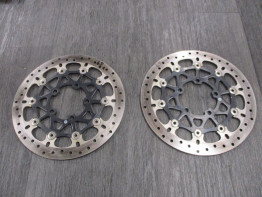 Brake disc set Triumph Tiger 800 XRT