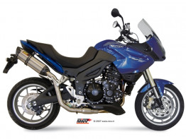 Sports exhaust Triumph Tiger 1050