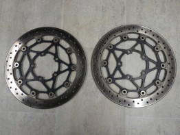 Brake disc set Triumph Street Triple 675