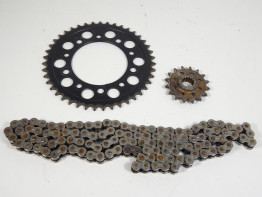 Chain and sprocket kit Honda NC 700 S