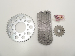 Chain and sprocket kit Honda FT 500