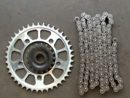 Chain and sprocket kit KTM 990 SM + SMT