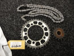 Chain and sprocket kit KTM 990 Superduke