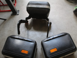 Luggage set Aprilia Pegaso