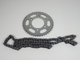 Chain and sprocket kit Ducati monster 600