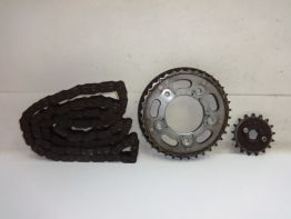 Chain and sprocket kit Honda CB 450