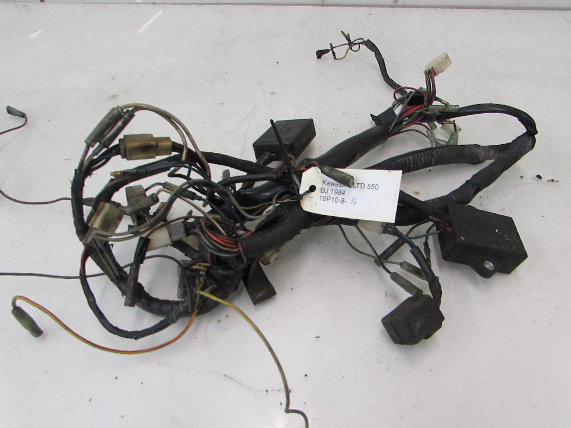 Wire Harness Kawasaki Ltd 440 1970 2012 201229889 Motorparts Wiring Machines India