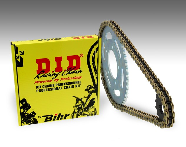 Chain and sprocket kit Honda TRANSALP