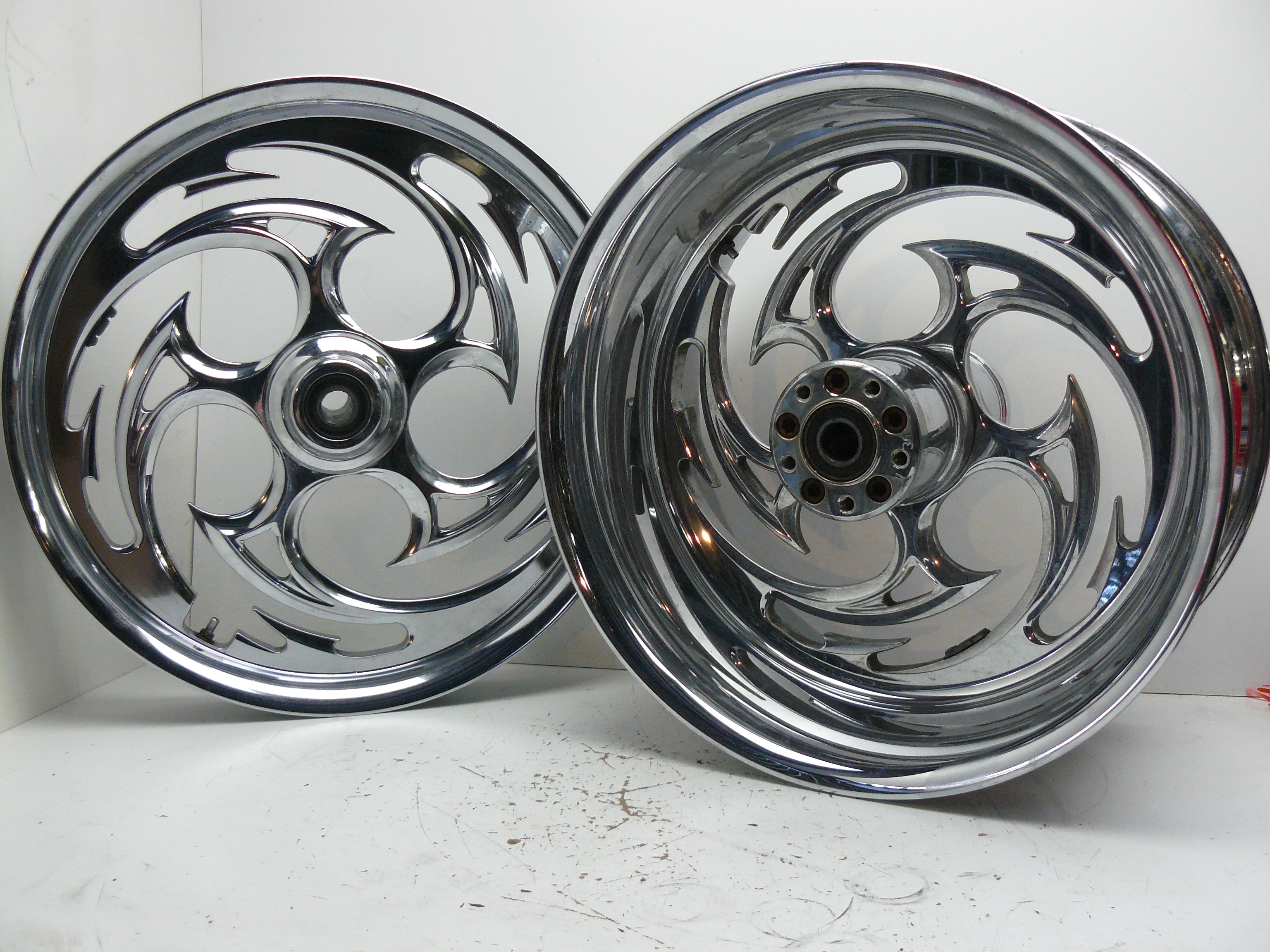 Used Harley Davidson Wheels >> Rim Set Harley Davidson Custom 1990 2015